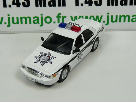 PM26K 1/43 IST déagostini Police du Monde :  FORD CROWN Victoria MEXIQUE