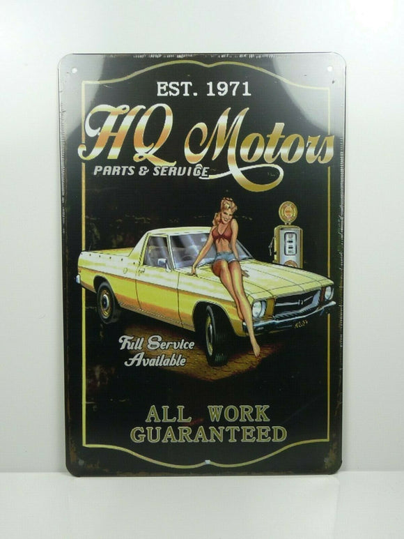 PA38 PLAQUES TOLEE vintage 20 X 30 cm : Pin'up HQ Motors