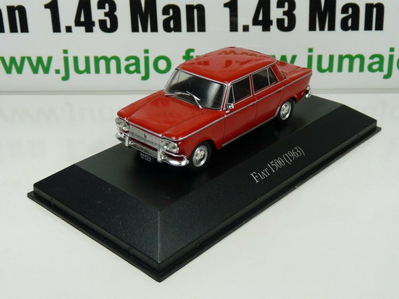ARG10B Voiture 1/43 SALVAT Autos Inolvidables : Fiat 1500 (1963)