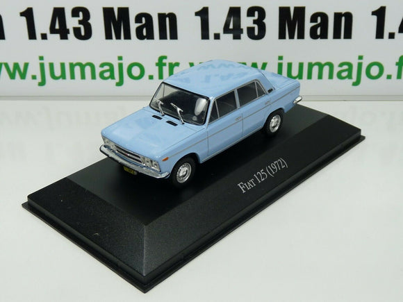 ARG21 Voiture 1/43 SALVAT Autos Inolvidables : Fiat 125 (1972)