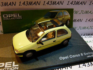 OPE74 voiture 1/43 IXO eagle moss OPEL collection : CORSA B swing 1993/2000