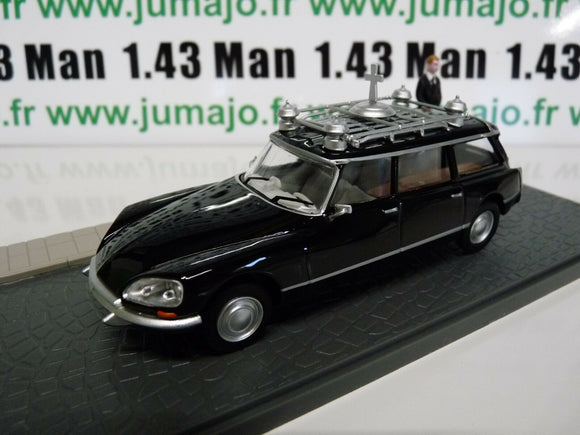 PU13T voiture 1/43 Eligor : CITROËN DS break Corbillard hearse
