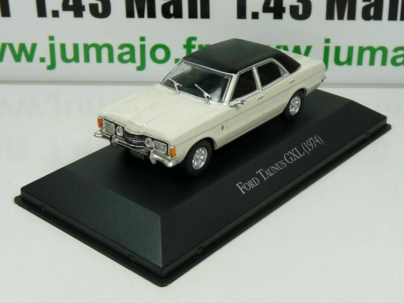 ARG23 Voiture 1/43 SALVAT Autos Inolvidables: Ford Taunus GXL (1974)