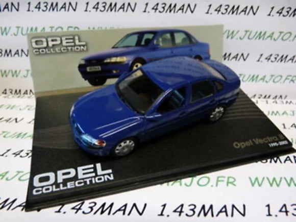 OPE82R voiture 1/43 IXO eagle moss OPEL collection : Vectra B 1995/2002