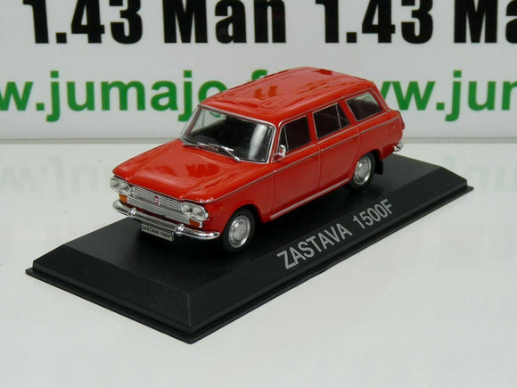 IT24G Voiture 1/43 IXO DEAGOSTINI Balkans : ZASTAVA 1500F (Fiat 1500 break)