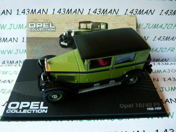 OPE52R voiture 1/43 IXO eagle moss OPEL collection : 10/40 PS 1925/1929