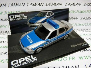 OPE45R voiture 1/43 IXO OPEL collection : VECTRA B Polizei police 1995/2002