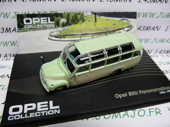 OPE60 voiture 1/72 IXO OPEL collection : BLITZ Panoramabus 1953/1956