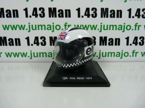 CM87F CASQUES MOTO GP 1/5  : Phil Read 1974 UK ELF
