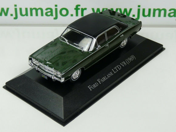 ARG41G Voiture 1/43 SALVAT Autos Inolvidables : FORD FAIRLANE LTD V8 1969