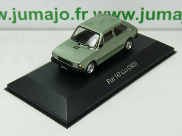 ARG29G Voiture 1/43 SALVAT Autos Inolvidables : FIAT 147 CL5 1983