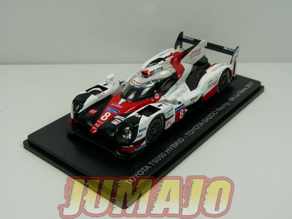 24H81G 1/43 HACHETTES 24 Heures Le Mans : Toyota TS050 Hyb 2017 Buemi Michelin