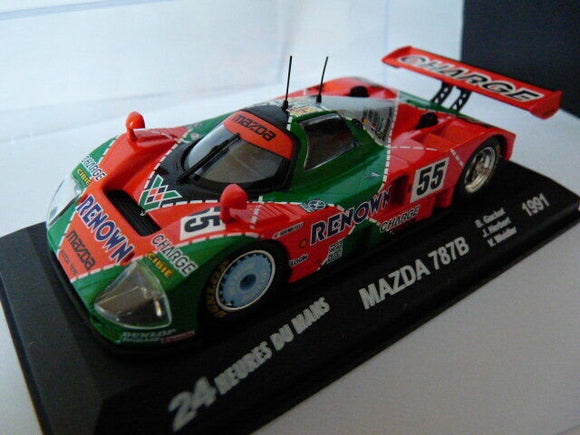 24H43M voiture 1/43 IXO 24 Heures Le Mans : MAZDA 787B winner 1991 1st