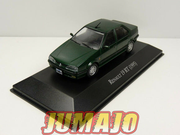 AQV12 Voiture 1/43 SALVAT Inolvidables 80/90: Renault 19 RT 1995 chamade