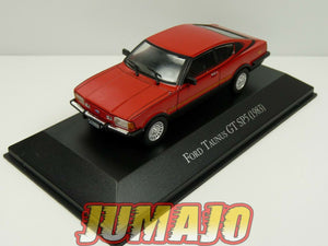 AQV8J Voiture 1/43 SALVAT Inolvidables 80/90: FORD taunus GT SP5 1983