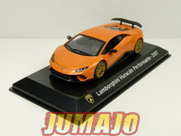SC25 voiture 1/43 SALVAT Supercars : LAMBORGHINI Huracan Performante 2017