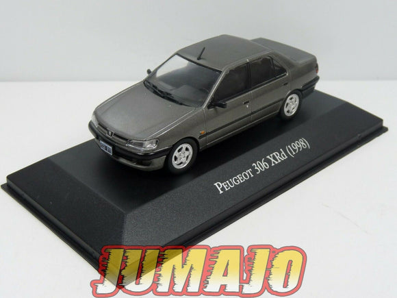 AQV21 Voiture 1/43 SALVAT Inolvidables 80/90: PEUGEOT 306 Berline XRd (1998)
