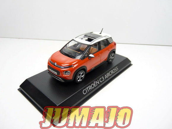 NORZ VOITURE 1/43 NOREV : CITROEN C3 AIRCROSS 2017 Orange