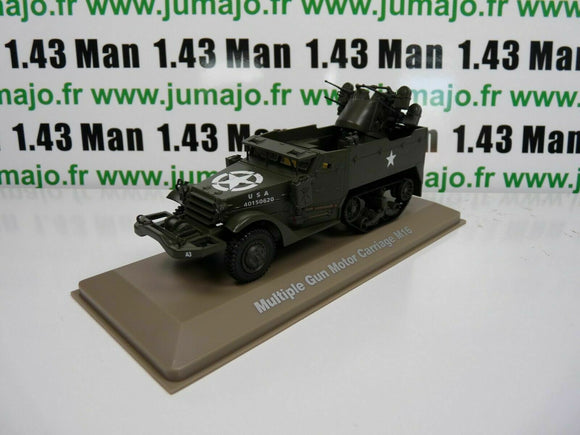 BL3H atlas IXO 1/43 Blindés WW2 : Multiple Gun Motor Carriage M16