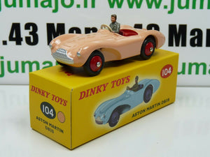 DT11 Voiture réédition DINKY TOYS atlas : 104 Aston Martin DB3S UK