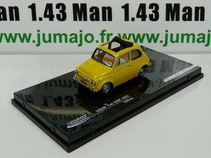 IT27G VOITURE 1/43 DIE CAST model : Fiat 500F 1965 yellow