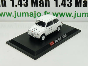 IT56M Voiture 1/43 Hachette ABARTH collection : FIAT 600 - 1955