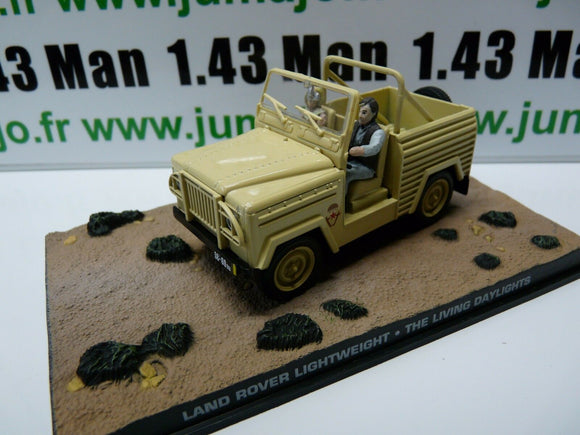 JB67E voiture 1/43 IXO 007 JAMES BOND LAND ROVER Lightweight living daylights