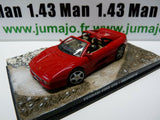 JB10H voiture 1/43 IXO 007 JAMES BOND : FERRARI F355 GTS