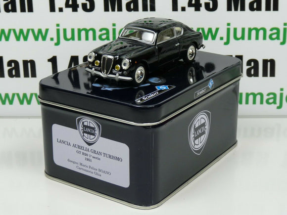 IT17G VOITURE 1/43 Solido coffret : LANCIA Aurelia Gran Turismo 1951