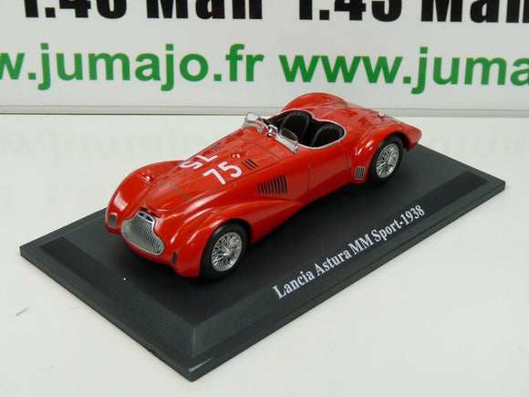IT81N Voiture 1/43 STARLINE 1000 MIGLIA : LANCIA Astura MM Sport - 1938