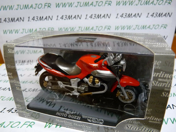 MG25 : MOTO 1/24 STARLINE  MOTO GUZZI : BREVA V 1100 IE