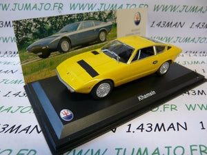 MAS5 voiture 1/43 LEO models : MASERATI collection : KHAMSIN  1973