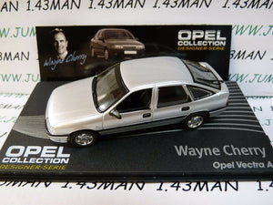 OPE138R 1/43 IXO designer serie OPEL collection : VECTRA A W.Cherry silver