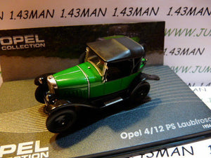 OPE48 voiture 1/43 IXO eagle moss OPEL collection : 4/12 PS Laubfrosch