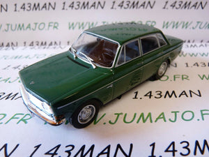 PL17 VOITURE 1/43 IXO IST déagostini POLOGNE : VOLVO 144 verte