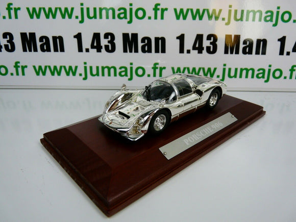 SIL6G VOITURE 1/43 IXO CHROME : Porsche 906