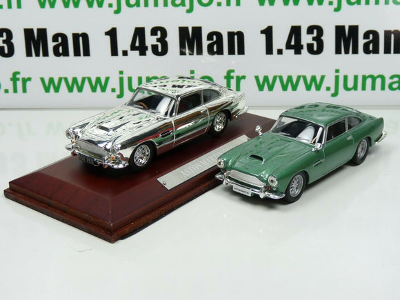 lot 2 VOITURES 1/43 IXO : ASTON MARTIN DB4 COUPE et DB4 Silver-cars