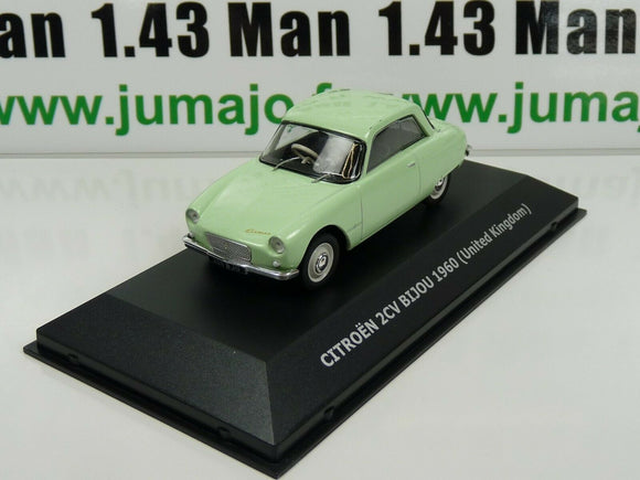 CVW2 1/43 IXO Direkt CITROËN 2cv of the world : 2CV Bijou 1960 UK