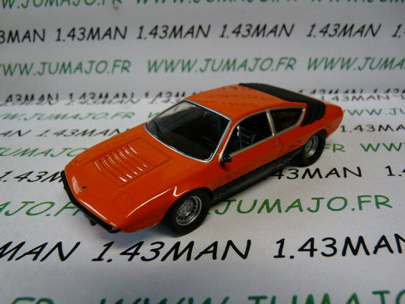 DC15 VOITURE 1/43 IXO déagostini russe dream cars : LAMBORGHINI Urraco orange