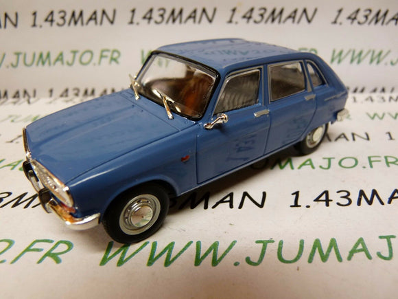 PL97M VOITURE 1/43 IXO IST déagostini POLOGNE :  RENAULT 16 TS