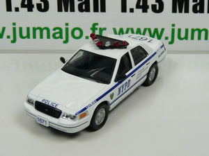 PM12K 1/43 IST déagostini Police du Monde :  FORD CROWN Victoria NYPD USA