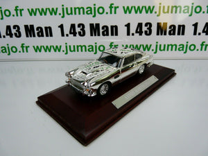 SIL8G VOITURE 1/43 IXO CHROME : Aston Martin DB4