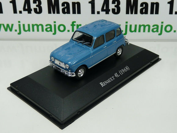 ARG16G Voiture 1/43 SALVAT Autos Inolvidables : Renault 4L (1968)