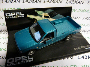 OPE93R voiture 1/43 IXO eagle moss OPEL collection : CAMPO 1993