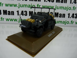 BL33H atlas IXO 1/43 Blindés WW2 : SdKfz 223 antenne radio