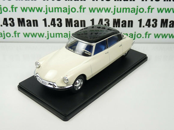 VQ14 Voiture 1/24 SALVAT Models : CITROEN DS 19 (1956)