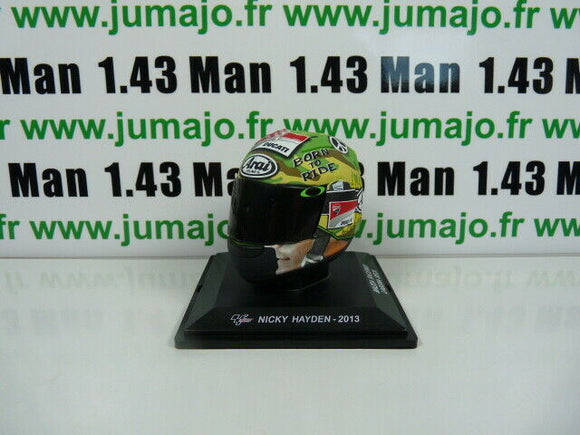 CM81F CASQUES MOTO GP 1/5  : Nicky Hayden 2013 Born to Ride Ducati Arai Nicky69