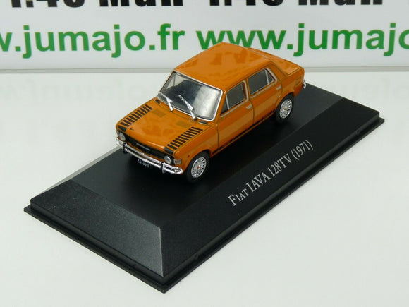ARG36G Voiture 1/43 SALVAT Autos Inolvidables : FIAT 128 TV IAVA 1971