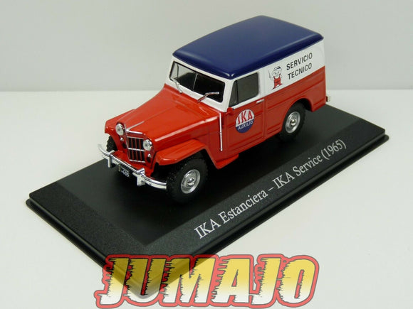 SER10G 1/43 SALVAT Vehiculos Servicios IKA Estanciera service 1965 jeep willys s