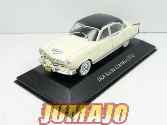 ARG48 Voiture 1/43 SALVAT Autos Inolvidables IKA Kaiser Carabela (Manhattan) 58
